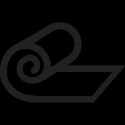 Symbol för träningspass i yopa och meditation